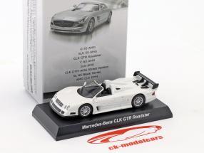 Mercedes-Benz CLK GTR Roadster bianco 1:64 Kyosho