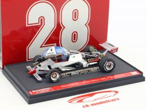 Didier Pironi Ferrari 126C2 #28 ganador San Marino GP fórmula 1 1982 1:43 Brumm