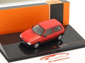 Fiat Uno Turbo IE anno di costruzione 1984 rosso 1:43 Ixo