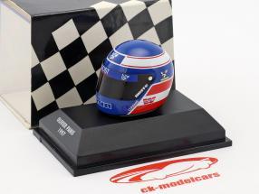 Olivier Panis Prost JS45 formula 1 1997 helmet 1:8 Minichamps