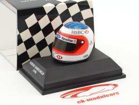 Rubens Barrichello Formel 1 1998 Helm 1:8 Minichamps