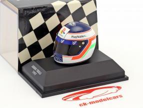 Jarno Trulli formula 1 1997 helmet 1:8 Minichamps