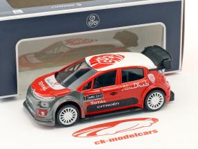 Citroen C3 WRC Official Presentation Version 2017 Jet Car 1:43 Norev