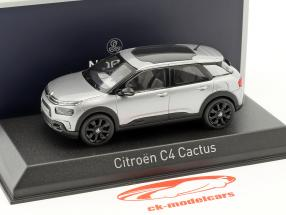 Citroen C4 Cactus Baujahr 2018 aluminium grau 1:43 Norev
