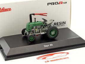 Steyr 80 trattore verde / grigio 1:43 Schuco
