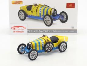 Bugatti Type 35 Grand Prix #5 Nation Colour Project Sweden 1:18 CMC