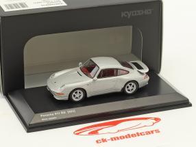 Porsche 911 (993) RS argent métallique 1:64 Kyosho