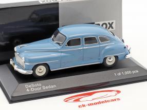 DeSoto 4-Door berline année de construction 1946 bleu clair 1:43 WhiteBox