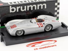 Juan Manuel Fangio Mercedes W196C #18 Winner French GP World Champion formula 1 1954 1:43 Brumm
