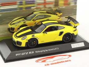 Porsche 911 (991 II) GT2 RS record du tour Nürburgring 2017 6:47,3 min 1:43 Spark