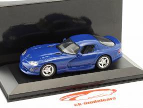 Dodge Viper Coupe year 1993 blue 1:43 Minichamps