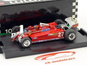 Gilles Villeneuve Ferrari 126CK #27 3rd Kanada GP Formel 1 1981 Runde 55-56 1:43 Brumm
