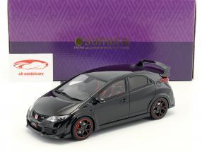 Honda Civic Type R year 2015 black 1:18 Kyosho