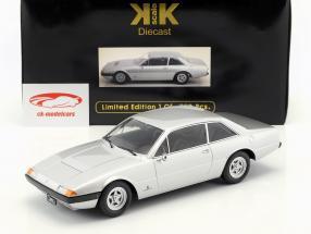 Ferrari 365 GT4 2+2 an 1972 argent 1:18 KK échelle