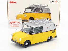Volkswagen VW Fridolin PTT giallo / argento 1:18 Schuco