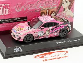 Toyota 86 #773 JKB86 year 2013 pink / black 1:43 kyosho