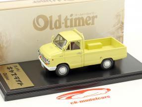 Nissan Datsun Cablight Truck giallo chiaro 1:43 Kyosho