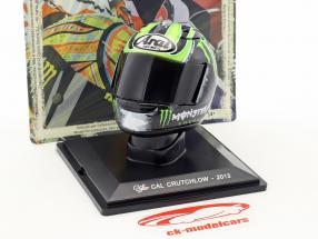 Cal Crutchlow MotoGP 2013 helmet 1:5 Altaya