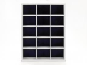 vetrina per a a 15 modelli nella scala 1:43 bianco Atlas