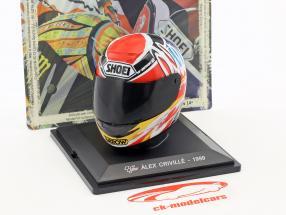 Alex Criville World Champion 500cm³ 1999 helmet 1:5 Altaya