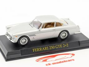 Ferrari 250 GTE 2+2 argent 1:43 altaya