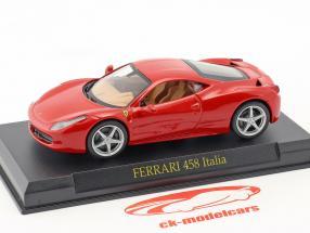 Ferrari 458 Italia rot 1:43 Altaya