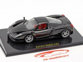 Ferrari Enzo noir avec vitrine 1:43 Altaya