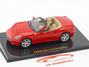 Ferrari California rot mit Vitrine 1:43 Altaya