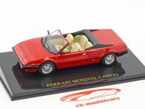 Ferrari Mondial Cabriolet rosso con vetrina 1:43 Altaya
