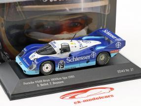 Porsche 956 B #19 1000km Spa 1985 Bellof, Boutsen 1:43 CMR