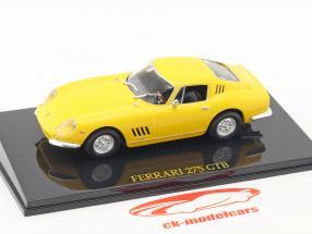 Ferrari 275 GTB giallo con vetrina 1:43 Altaya