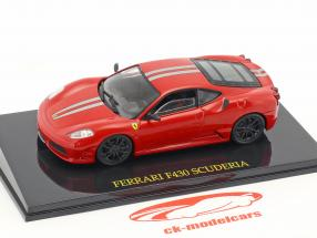 Ferrari F430 Scuderia red with showcase 1:43 Altaya
