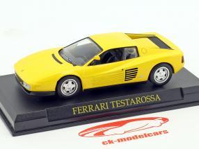 Ferrari Testarossa giallo 1:43 Altaya