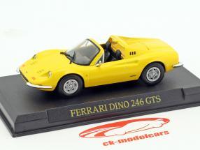 Ferrari Dino 246 GTS giallo 1:43 Altaya