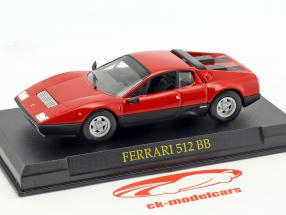 Ferrari 512 BB red 1:43 Altaya