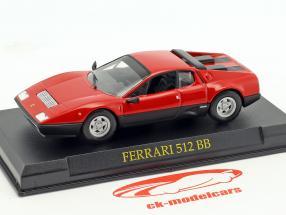 Ferrari 512 BB rot 1:43 Altaya
