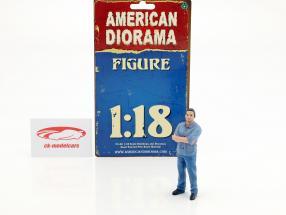 calle corredor figura II 1:18 American Diorama