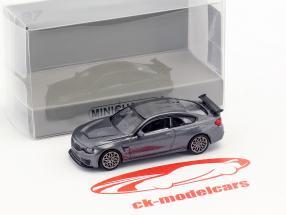 BMW M4 GTS Baujahr 2016 grau metallic / grau 1:87 Minichamps