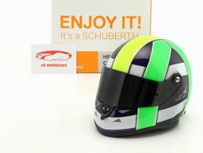Lucas di Grassi champion du monde FIA-Formel E 2017 casque 1:2 Schuberth