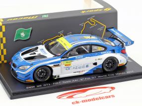 BMW M6 GT3 #91 6th FIA GT World Cup Macau 2017 Marco Wittmann 1:43 Spark