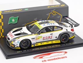 BMW M6 GT3 #99 FIA GT World Cup Macau 2017 Tom Blomqvist 1:43 Spark