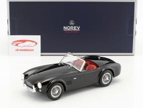 AC Cobra 289 année de construction 1963 noir 1:18 Norev