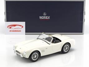 AC Cobra 289 ano de construção 1963 branco 1:18 Norev