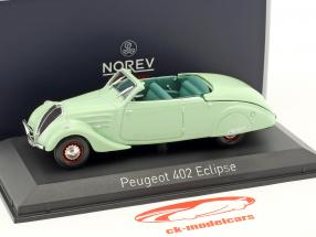 Peugeot 402 Eclipse year 1937 mint green 1:43 Norev