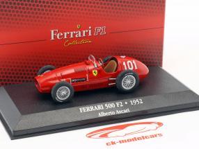 Alberto Ascari Ferrari 500 F2 #101 campione del mondo formula 1 1952 1:43 Atlas