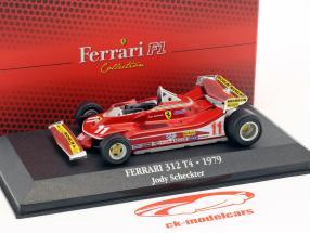 Jody Scheckter Ferrari 312 T4 #11 campione del mondo formula 1 1979 1:43 Atlas
