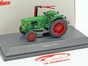 Deutz D40 L Traktor grün 1:43 Schuco