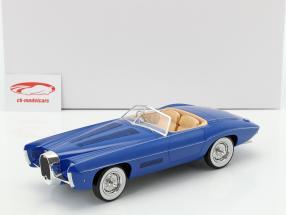 Bugatti T101C Exner-Ghia Spider Baujahr 1966 blau 1:18 Matrix