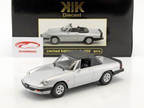 Alfa Romeo Spider 3 série 2 avec amovible softtop année de construction 1986 argent 1:18 KK-Scale