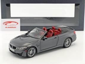 BMW M4 grigio Cabrio 1:18 ParagonModels